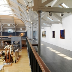 Viewing Balcony 2016 Dovecot Tapestry Studio, Photo Credit Shannon Tofts