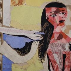 Picasso - Frauen bei ihrer Toilette - Detail
