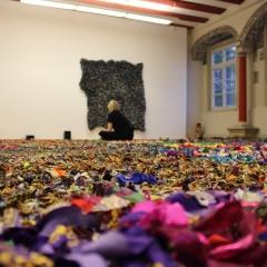 Ausstellungsansicht Renaissancesaal, Foto: Jule Henschel