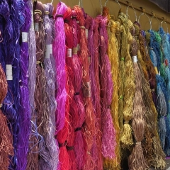 LONDON STUDIO, WALL OF SILK THREADS