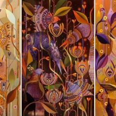 W ptasim gąszczu- tryptyk (Im Vogeldickticht - Triptychon)