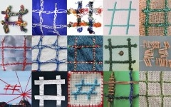 Lala de Dios - Corillo Textil finished collective work