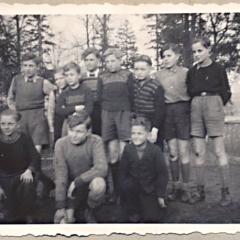 Willi mit seiner Fußball-Mannschaft